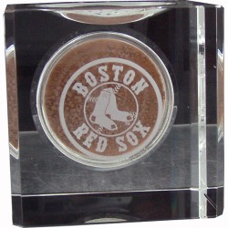 Steiner Sports - 20081045100102 - Boston Red Sox Engraved Crystal Ball Holder