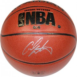 Steiner Sports - ANTHBKS000015 - Carmelo Anthony Signed IO NBA Brown Basketball
