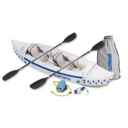 Sea Eagle - SE330K_P - Sea Eagle 330 Inflatable Kayak Includes Seats Paddles and Pump