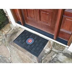 Fanmats - 11293 - Chicago Cubs Medallion Door Mat