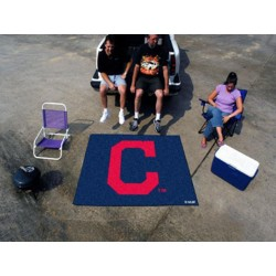 Fanmats - 16920 - Cleveland Indians Block-C Tailgater Rug 5x6