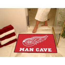 Fanmats - 14425 - Detroit Red Wings Man Cave All-Star Mat 33.75x42.5