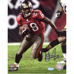 Steiner Sports - DUNNPHS008006 - Warrick Dunn Bucs Run vs Rams 8x10 Photo