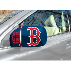 Fanmats - 13297 - Boston Red Sox Small Mirror Cover