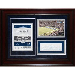 Steiner Sports - 200840953810001 - Dallas Cowboys 11x14 Final Game Commemorative Ticket Collage (Pkg A)