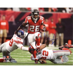 Steiner Sports - DUNNPHS008005 - Warrick Dunn Run vs Giants 8x10 Photo