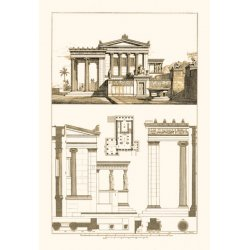 Buyenlarge - 09096-0CG12 - The Erechtheum at Athens 12x18 Giclee on canvas