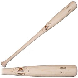 Akadema - A543-32 - Akadema A543 Elite Professional Grade Adult Amish Wood Baseball Bat 32 Inch