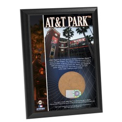 Steiner Sports - ATTPPLU004000 - AT&T Park 4x6 Dirt Plaque
