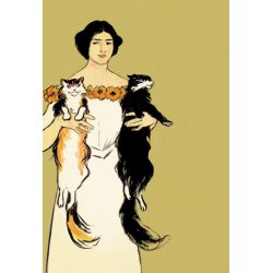 Buyenlarge - 01626-4P2030 - Springtime Felines 20x30 poster