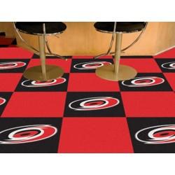 Fanmats - 10691 - Carolina Hurricanes Team Carpet Tiles