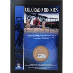 Steiner Sports - COORPLU0004000 - Coors Field 4x6 Dirt Plaque