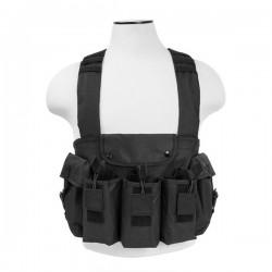 NcSTAR - CVAKCR2921B - Vism By Ncstar Ak Chest Rig/Black