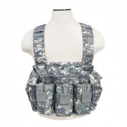 NcSTAR - CVAKCR2921D - NcStar CVAKCR2921D VISM Series Fully-Adjustable AK Chest Rig, Digital Camo