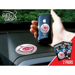Fanmats - 13099 - Cincinnati Reds Get a Grip 2 Pack