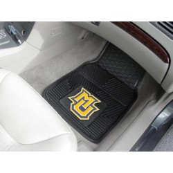 Fanmats - 12139 - Marquette University Heavy Duty 2-Piece Vinyl Car Mats 17x27