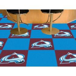 Fanmats - 10683 - Colorado Avalanche Team Carpet Tiles