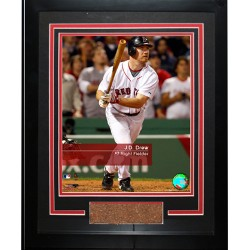 Steiner Sports - 200810452210107 - JD Drew 7 Red Sox Feel The Game Framed Photograph