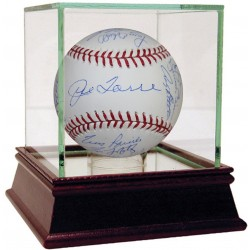 Steiner Sports - YANKBAS000273 - New York Yankees Multi-Signed 1998 World Series Baseball 21 SignaturesMLB Auth