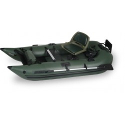 Sea Eagle - 285FPBK_PRO - Sea Eagle 285 Pro Green Inflatable 9ft Pontoon Boat