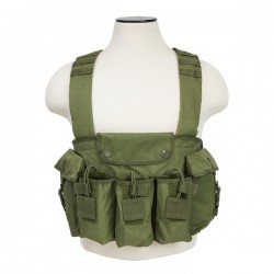 NcSTAR - CVAKCR2921G - Vism By Ncstar Ak Chest Rig/Green
