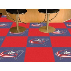Fanmats - 10687 - Columbus Blue Jackets Team Carpet Tiles