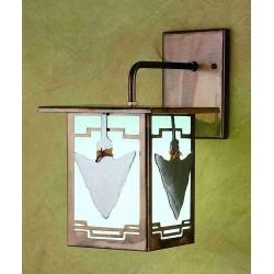 Meyda - 29607 - 6 Inch W Arrowhead Lantern Wall Sconce