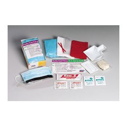 First Aid Only - 214-P - First Aid Only 214-P 16 Piece Disposable Tray Body Fluid Cle...