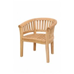 Anderson Teak - CHD-032T - Curve Armchair Extra Thick Wood