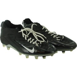 Steiner Sports - SYRASHU200775 - Syracuse 2007 Game Used Football Shoes nbr75 Size 14