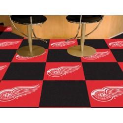 Fanmats - 10706 - Detroit Red Wings Team Carpet Tiles