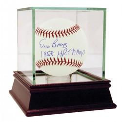 Steiner Sports - BANKBAS000037 - Ernie Banks Signed MLB Baseball w 58 HR Champ Insc
