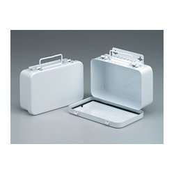 First Aid Only - M5017 - 10 Unit- empty metal case w/ hanger & gasket- 7-1/2 in. x4-1/2 in. x2-3/8 in. - horizontal- 1 ea.
