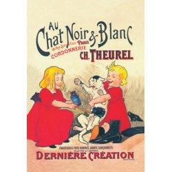 Buyenlarge - 01617-5P2030 - Au Chat Noir et Blanc 20x30 poster