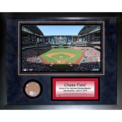 Steiner Sports - CHASPHA011000 - Chase Field 11x14 Mini Dirt Collage