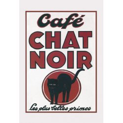 Buyenlarge - 01616-7P2030 - Caf Chat Noir 20x30 poster