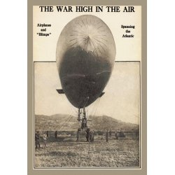 Buyenlarge - 01497-0P2030 - The War High in the Air - Photographic representation during the time of First flight with spectators in antiq