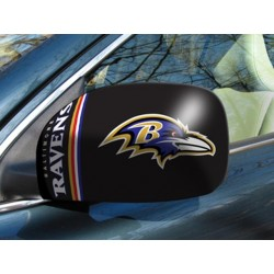 Fanmats - 11868 - Baltimore Ravens Small Mirror Cover