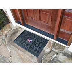 Fanmats - 11485 - Columbus Blue Jackets Medallion Door Mat