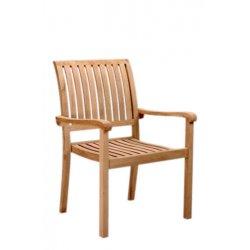 Anderson Teak - CHS-055 - Aspen Stackable Armchair Set of 4