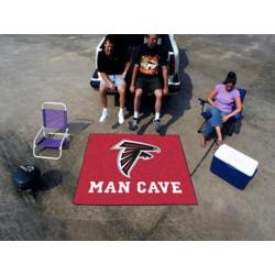 Fanmats - 14267 - NFL - Atlanta Falcons Man Cave Tailgater Rug 5x6