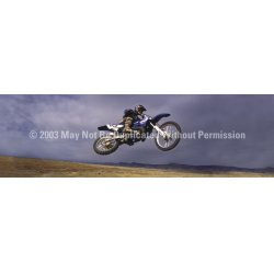 ClearVue Graphics - BMX-002-20-65 - Window Graphic - 20x65 Bike Flight