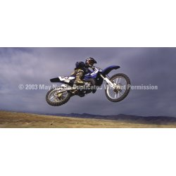 ClearVue Graphics - BMX-002-30-65 - Window Graphic - 30x65 Bike Flight