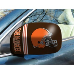 Fanmats - 11872 - Cleveland Browns Small Mirror Cover