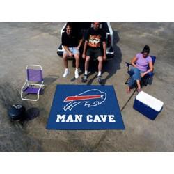 Fanmats - 14275 - Buffalo Bills Man Cave Tailgater Rug 5x6