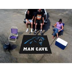 Fanmats - 14279 - Carolina Panthers Man Cave Tailgater Rug 5x6