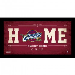 Steiner Sports - CAVAPHA006003 - Cleveland Cavaliers 6x12 Home Sweet Home Sign