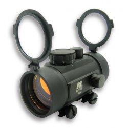 NcSTAR - DBB142 - NcStar DBB142 1X42mm Weaver Base Seven Position Knob B-Style Red Dot Sight