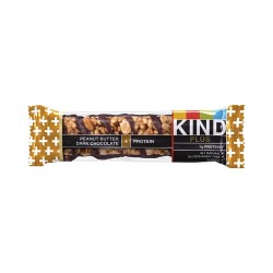 KIND - 17256 - 1.4 oz. Peanut Butter Dark Chocolate Plus Protein KIND Plus Nutrition Boost Bar; PK12