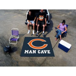 Fanmats - 14283 - Chicago Bears Man Cave Tailgater Rug 5x6